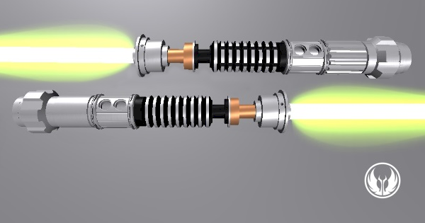 The Gemini Twin Lightsabers (Borommakot's Zodiac)