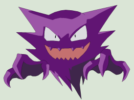 Haunter Gengar himself!