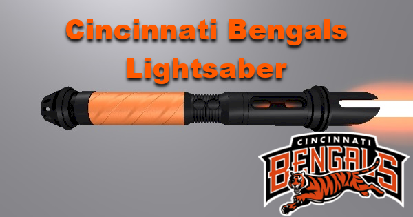 Cincinnati Bengals Lightaber (For Tyeth's Sports Series)