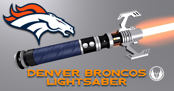 Denver Broncos Lightsaber (For Tyeth Sport Series)
