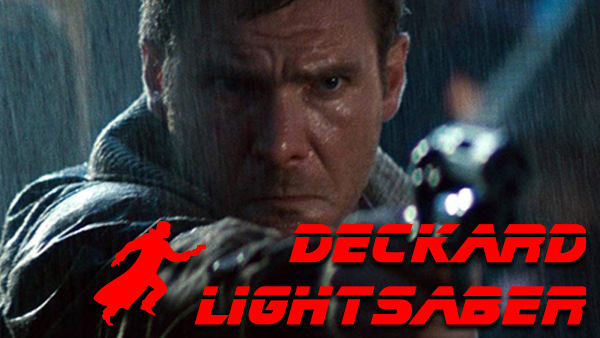 Deckard Lightsaber -A Blade Runner's Weapon