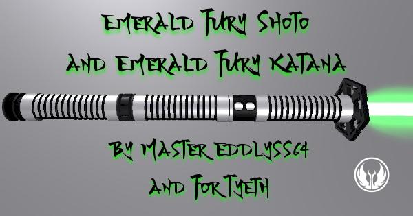 Emerald Fury Katana – for Eddlyss64