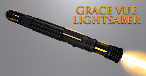 Grace Vue Lightsaber (for an Exemplary Employee)