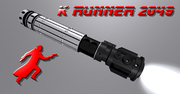 K Runner 2049 Lightsaber (Inspired by the Blade Runner Sequel)