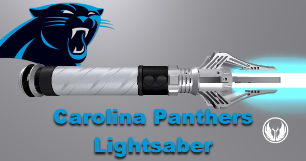 Carolina Panthers Lightsaber (For Tyeth sport series)
