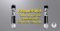 Use two together to form a control column