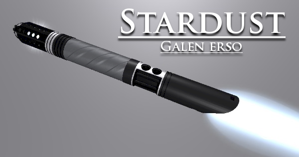 Stardust Lightsaber – Inspired by Galen Erso