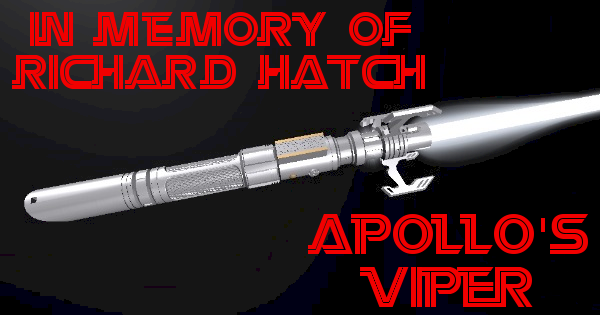 Apollo's Viper Saber – In Memory of Richard Hatch