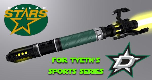 Star of Dallas Lightsaber – For Tyeth Sport Series