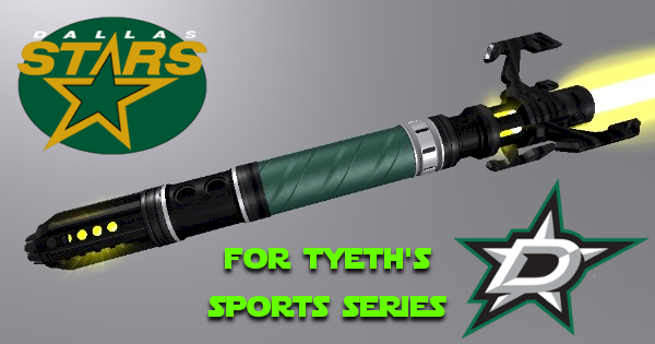 Star of Dallas Lightsaber – For Tyeth Sport Series
