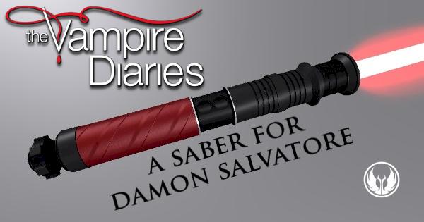 Daemon – Another Vampire Diaries Inspired Lightsaber