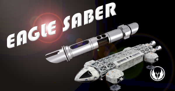 Eagle Saber – Inspired by Space 1999