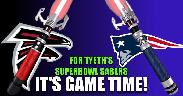 SuperBowl Sabers – Falcons vs Patriots