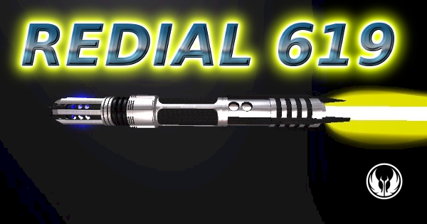 Redial 619 Lightsaber (A Lucha-Libre Legend)