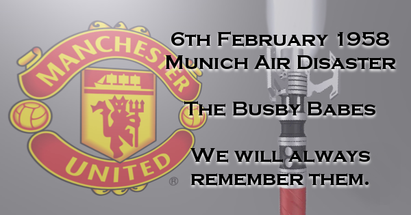 The Busby Babes – I'll Remember Them (Mancunian RED)