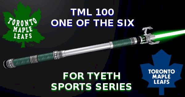 TML 100 Lightsaber – Toronto Maple Leaf Anniversary