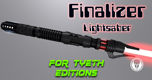 Finalizer Lightsaber – Inspired by kylo Ren's Star Destroyer