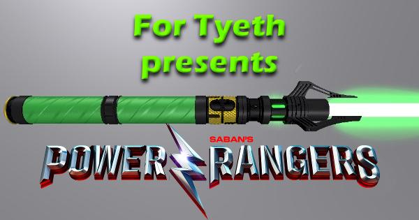 Ranger Green (+Gold Bits)Lightsaber, Revisited!