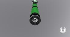 Ranger Green Pommel 2