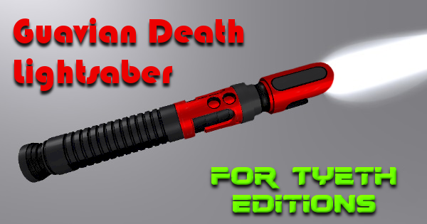 Guavian Death Lightsaber – A weapon for the underworld gang