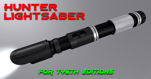 Hunter Lightsaber – Inspired by a Venator
