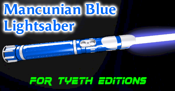 Mancunian Blue Lightsaber – Manchester City tribute saber