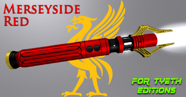 Merseyside Red Lightsaber – A Liverpool Lightsaber
