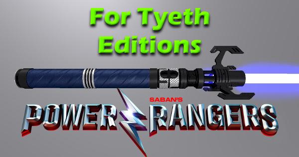 Ranger Blue Lightsaber – Billy's New Gadget
