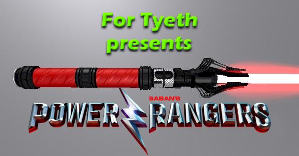 Ranger Red – Inspired by the new Power Rangers film.