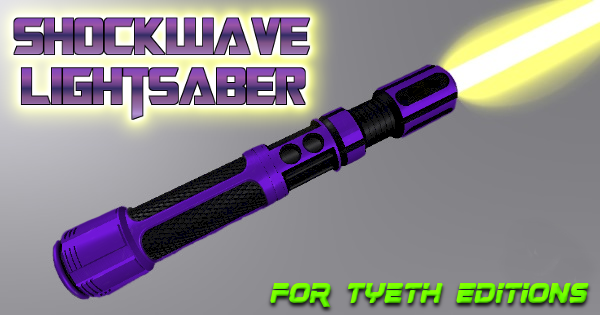 Shockwave Lightsaber – A new saber for the Military Machine