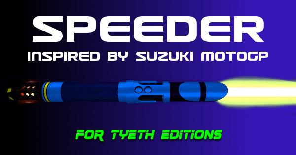 Speeder Lightsaber – Inspired by Suzuki MotoGP