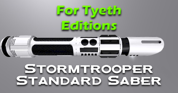 Stormforce Lightsaber – A Slight Redesign.
