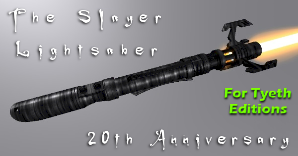 The Slayer Lightsaber – Buffy's 20th Anniversary Gift