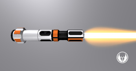 BB-8 Hilt Horizontal