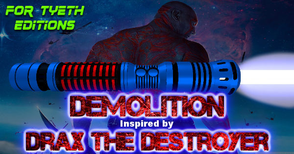 Demolition – Inspired by GOTG's Drax the Destroyer