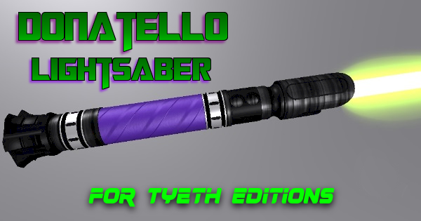 Donatello Lightsaber – For the Technical Turtle