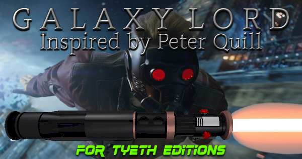 Galaxy Lord Lightsaber – Inspired by Peter Quill