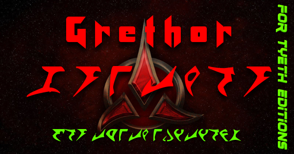 Grethor Lightsaber – A Klingon Kyber Weapon