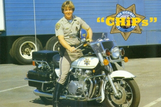 Larry Wilcox in the show