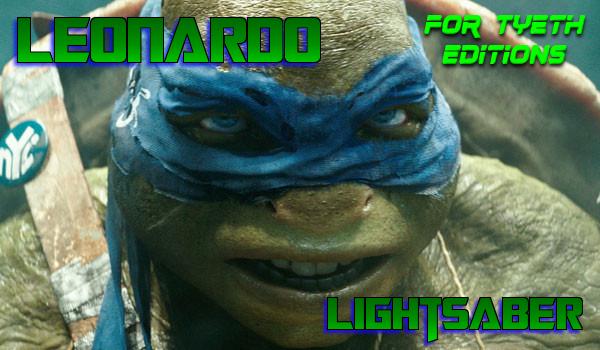 Leonardo Lightsaber – For the Leader of the Group