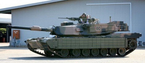 Reactive Armour Plating