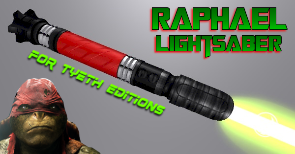 Raphael Lightsaber – For the Fourth Turtle