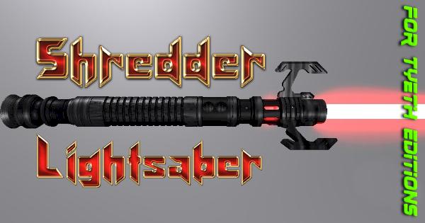 Shredder Lightsaber – For the Turtle's Arch Enemy