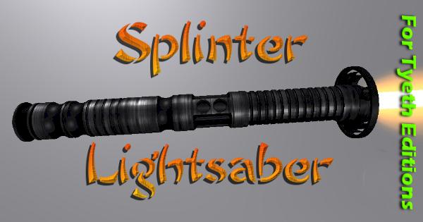 Splinter Lightsaber – A Saber for the Turtles' Sensei