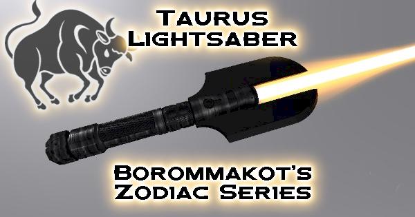 Taurus Lightsaber – Borommakot's Zodiac Series