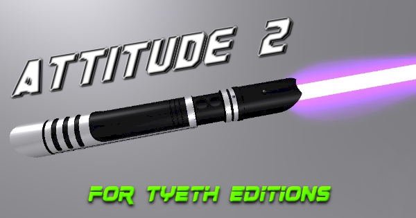 Attitude Lightsaber 2 – A new purpose for an old idea