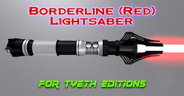 Borderline (RED) Lightsaber – The Blurring Line