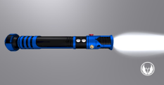 Calrissian Lightsaber Horizontal