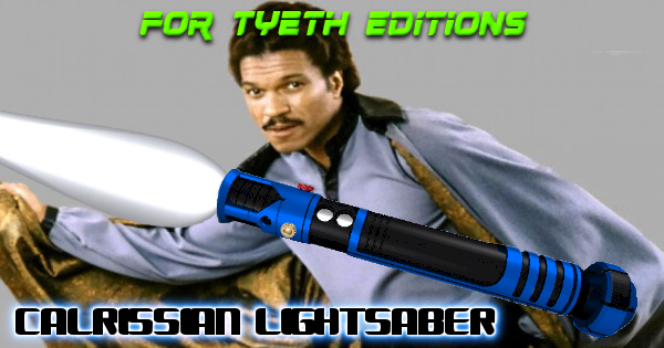 Calrissian Lightsaber – A Scoundrel's Saber