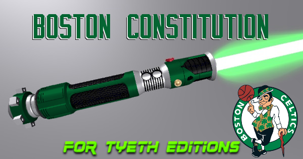 Boston Constitution Lightsaber – A Celtic Kyber Weapon